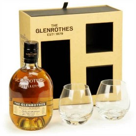 GIFT WHISKY THE GLENROTHES + 2 BICCHIERI