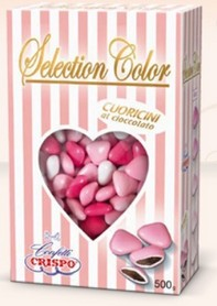 CONFETTI CRISPO MINI SELECTION COLOR ROSA GR.500